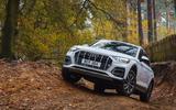 Audi Q5 40 TDI Sport 2020 UK first drive review - static front