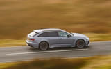 Audi RS6 2020 UK first drive review - on the road side