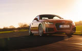 Audi TT Coupe 2019 UK first drive review - on the road front