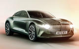 Bentley EV render