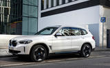BMW iX3 2020 first drive review - static front