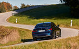 BMW M340i xDrive 2019 first drive review - cornering rear