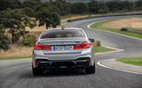 BMW M5 Competition 2018 first drive review track rear