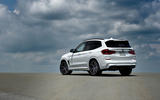 BMW X3 M Competition 2019 first drive review - static rear
