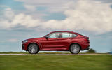 BMW X4 2018 first drive review on the road side