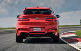 BMW X4 M Competition 2019 first drive review - track rear end