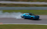 Dodge Challenger Hellcat Redeye Widebody 2018 first drive review - drift side
