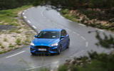 Ford Focus 2018 first drive review cornering left