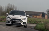 Ford Focus RS Mountune M520 2020 UK first drive review - hero front