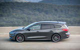 Ford Focus ST estate EcoBlue 2019 first drive review - on the road side
