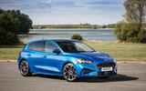 Ford Focus ST-Line 182PS 2018 UK first drive review - static front