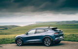 Ford Mustang Mach E 2021 UK first drive review -  static rear