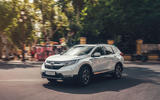 Honda CR-V hybrid 2019 first drive review - cornering front