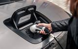 Honda e 2020 UK first drive review - charging