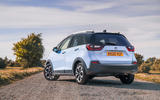 Honda Jazz Crosstar 2020 UK first drive review - static rear