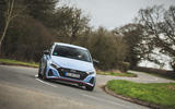 20 Hyundai i20 N 2021 UK first drive review on road cornering