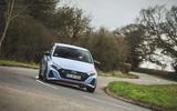 20 Hyundai i20 N 2021 UK first drive review on road cornering