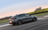 Hyundai i30 Fastback N 2019 first drive review - track drive side