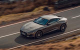 Jaguar F-Type 2020 UK first drive review - on the road side