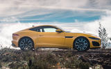 Jaguar F-Type Coupé 2020 first drive review - static side