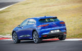 Jaguar I-Pace 2018 review track rear