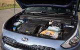 Kia Niro PHEV 2020 UK first drive review - engine