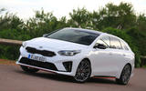 Kia Proceed 2019 first drive review - static front