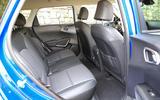 Kia Soul EV 2019 first drive review - rear seats
