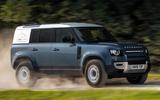 Land Rover Defender Hard Top - hero front