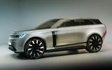 Land Rover Zeus render - static front