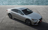 Lexus ES 2019 first drive review - static aerial