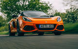 20 Lotus Exige final edition 2021 UK FD tracking front