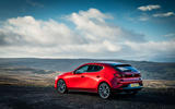 Mazda 3 2019 UK first drive review - static rear