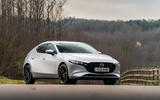 20 Mazda 3 e Skyactiv X 2021 UK fd static