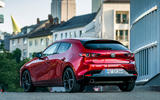 Mazda 3 Skyactiv-X 2019 first drive review - static rear