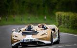 20 McLaren Elva 2021 UK FD cornering