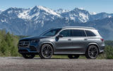 Mercedes-Benz GLS 400D 2019 first drive review - static front