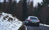Mercedes-AMG GT 63 S 4-door Coupé 2019 UK first drive review - cornering rear