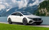 20 Mercedes EQS580 2021 FD static front