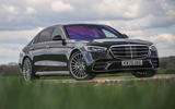 20 Mercedes S Class S400d 2021 UK FD static