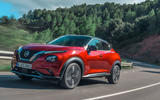 Nissan Juke 2019 first drive review - on the road front
