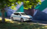 Nissan Leaf 2nd generation (2018) long-term review graffiti