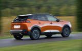 Peugeot 2008 2020 first drive review - on the road rear