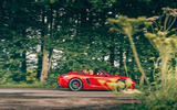 Porsche 718 Boxster GTS 4.0 2020 UK first drive review - on the road side