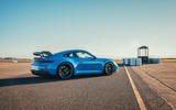 20 Porsche 911 GT3 2021 UK first drive review static rear