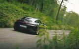 20 Porsche 911 GT3 Touring 2021 LHD UK road rear