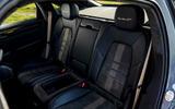 20 Porsche Cayenne Turbo GT 2021 UK FD rear seats