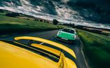 Porsche Cayman GTS - front