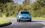 Renault Captur E-Tech PHEV 2020 UK first drive review - cornering rear