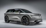 Renault EV render
